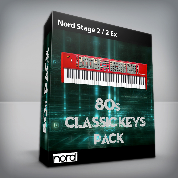 80's Classic Keys - Nord Stage 2 / Ex