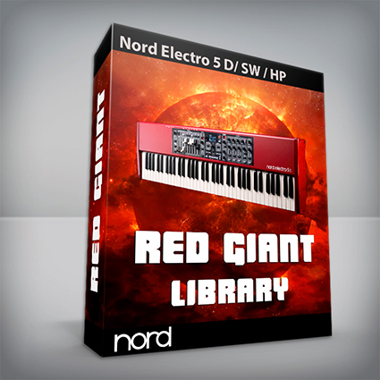 Red Giant Library - Nord Electro 5 Series