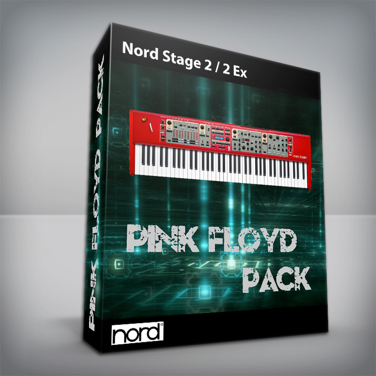 Pink Floyd Cover Pack V.2 - Nord Stage 2 / 2 Ex