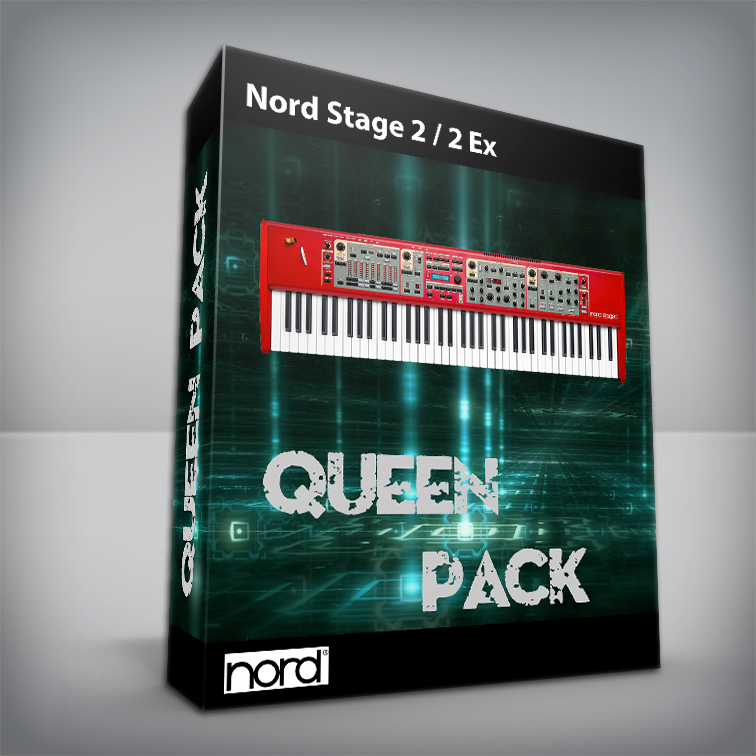 Queen Cover Pack - Nord Stage 2 / Ex