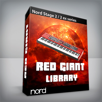 Red Giant Library - Nord Stage 2 Series