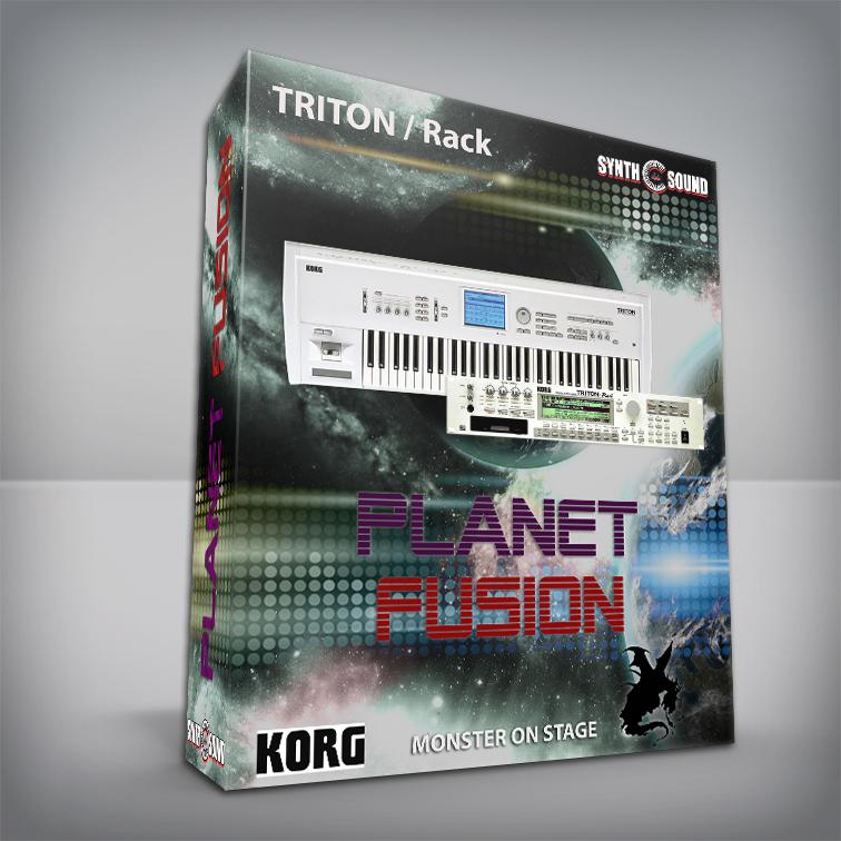 Planet Fusion - Korg Triton CLASSIC / Rack