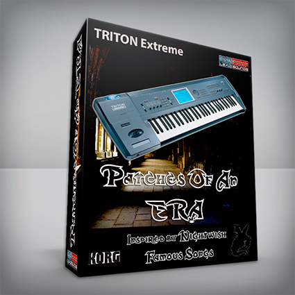 Patches Of An Era / Nightwish Cover Pack - Korg Triton Extreme