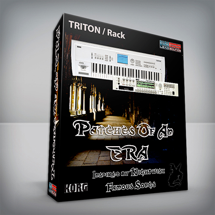 Patches Of An Era / Nightwish Cover Pack - Korg Triton / Rack