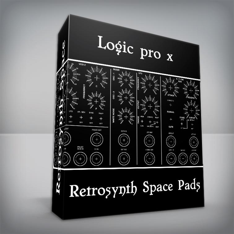 Retrosynth Space Pads - Logic Pro X