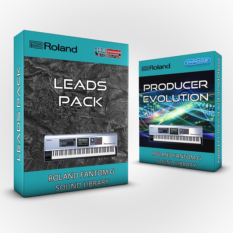 SCL24 - ( Bundle ) Leads Pack + Producer Evolution - Roland Fantom G