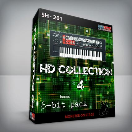 HD Collection 4 + Bonus 8-bit Pack - Roland SH201