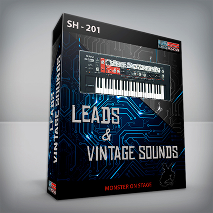 Leads and Vintage sounds - Roland SH201