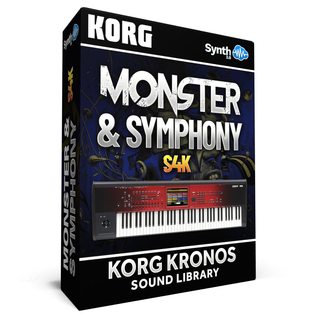 SCL164 - Monster and Symphony S4K - Korg Kronos Series