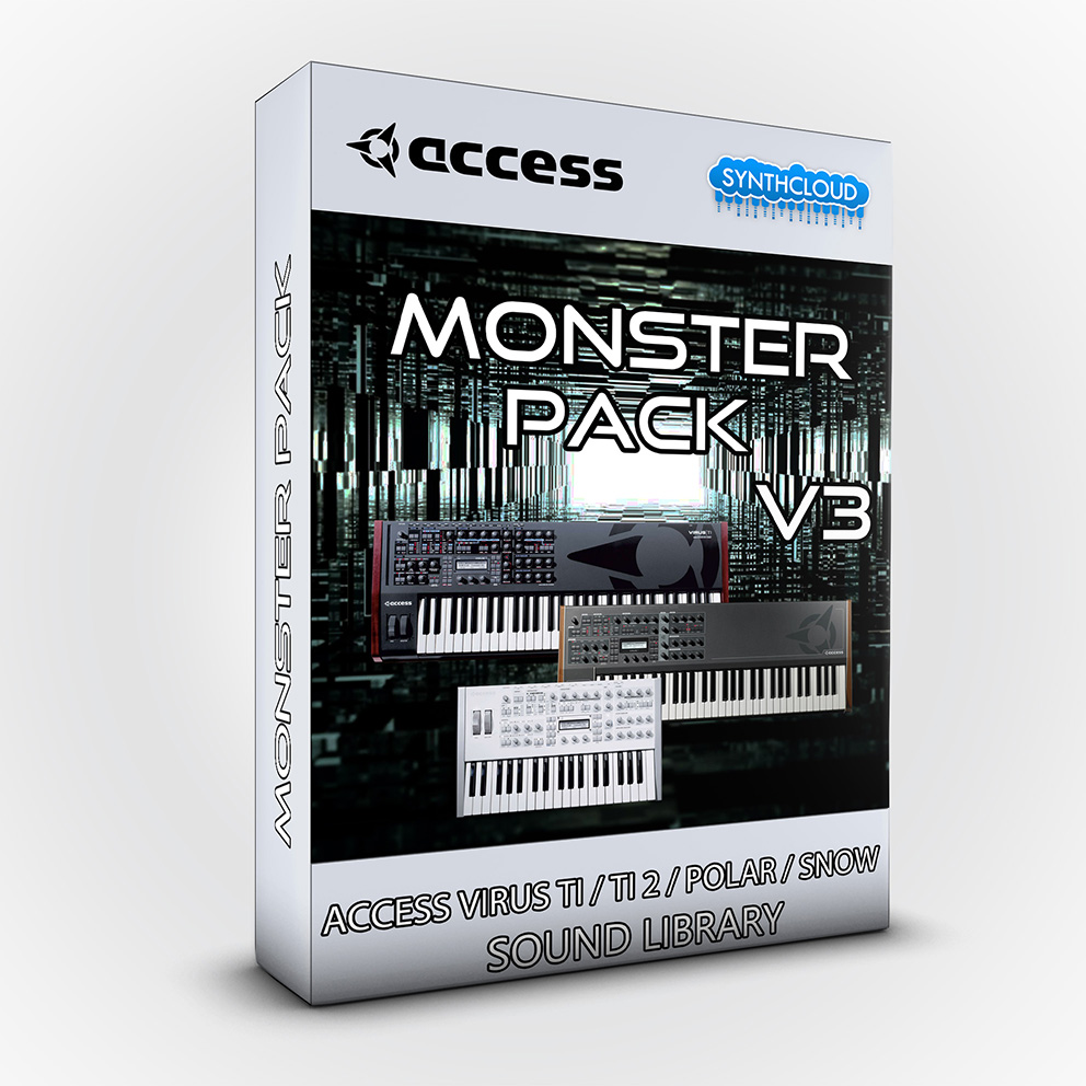 LDX204 - Monster Pack V.3 - Access Virus TI / TI2 / Polar / Snow