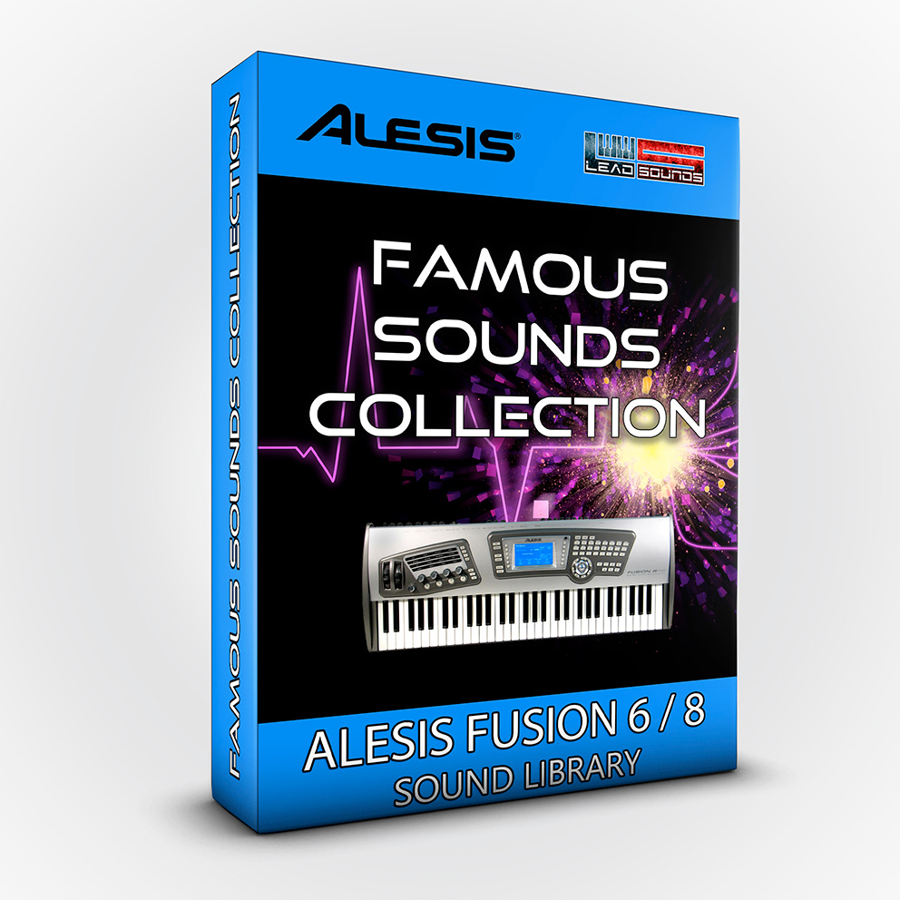 SCL40 - Famous Sounds Collection - Alesis Fusion 6/8