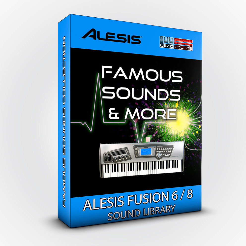SCL37 - Famous Sounds & more Vol.2 - Alesis Fusion 6/8