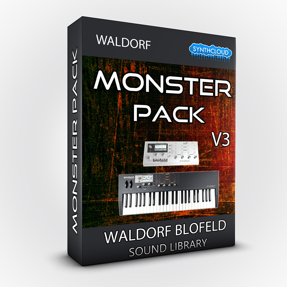 LDX196 - Monster Pack V.3 - Waldorf Blofeld / Desktop