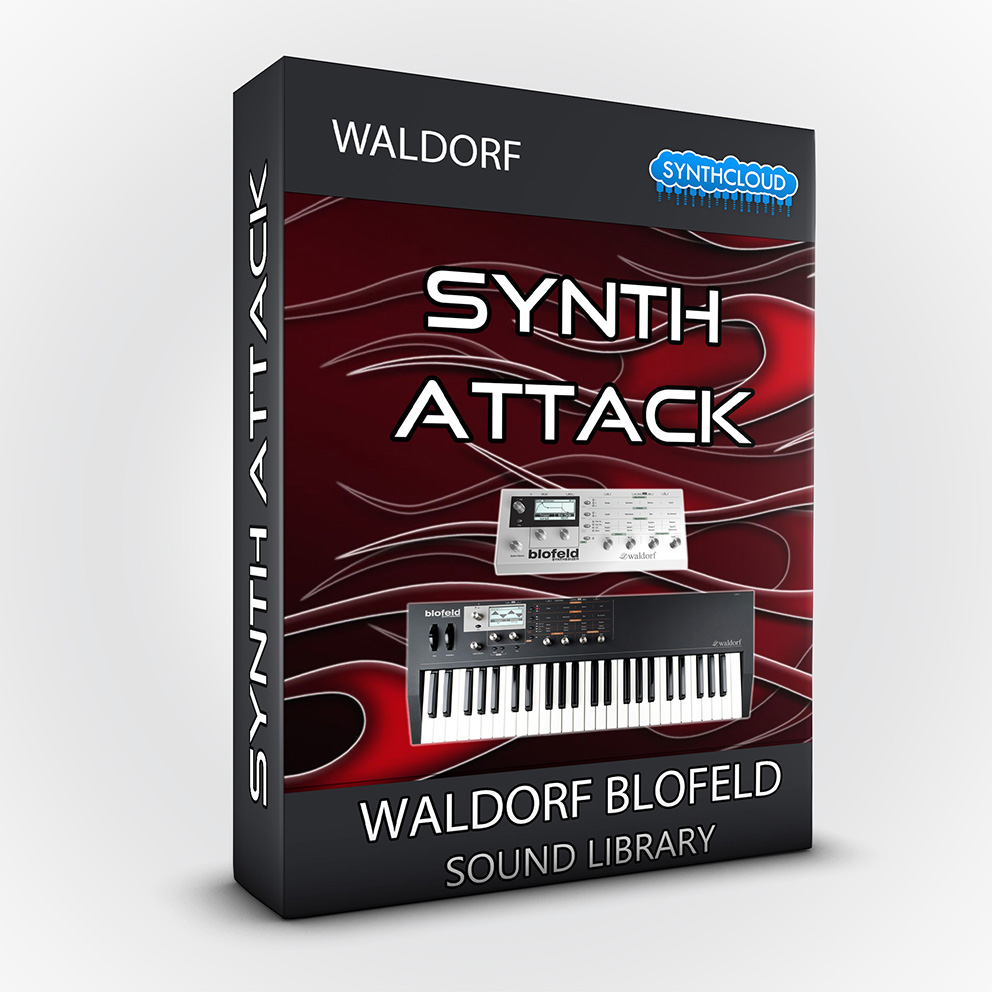 LDX195 - Synth Attack - Waldorf Blofeld / Desktop