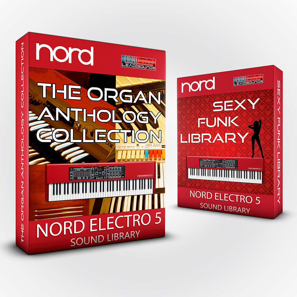 SCL86 - ( Bundle ) The Organ Anthology Collection + Sexy Funk Library - Nord Electro 5 series