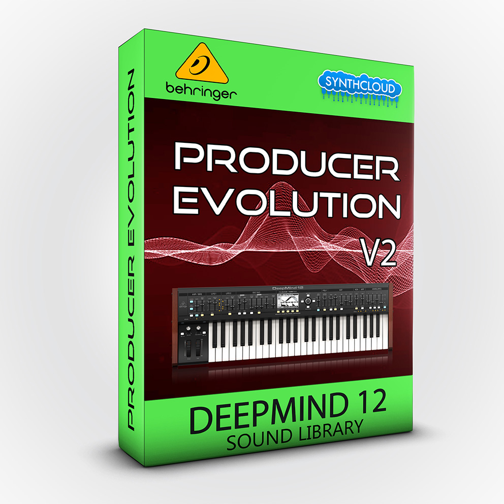LDX205 - Producer Evolution V2 - Behringer Deepmind 6 / 12 / 12D