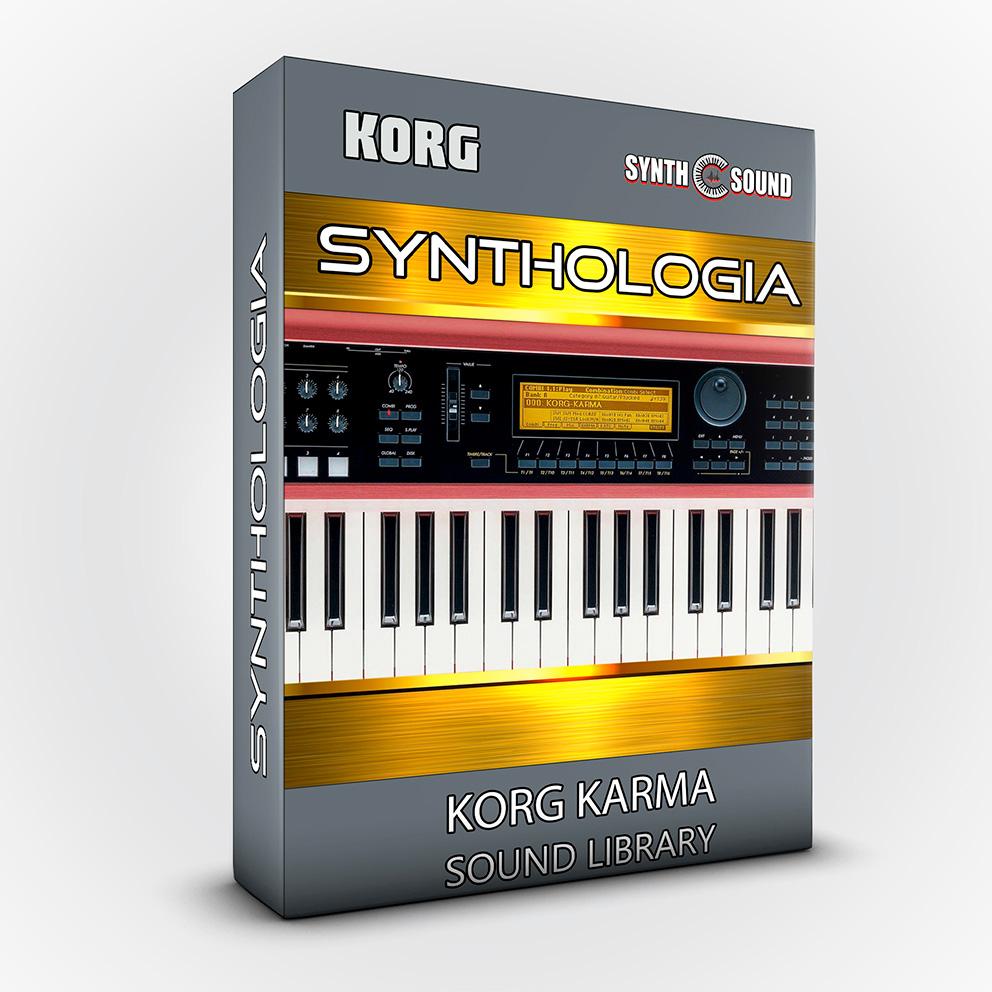 SSX100 - Synthologia V1 - Korg KARMA