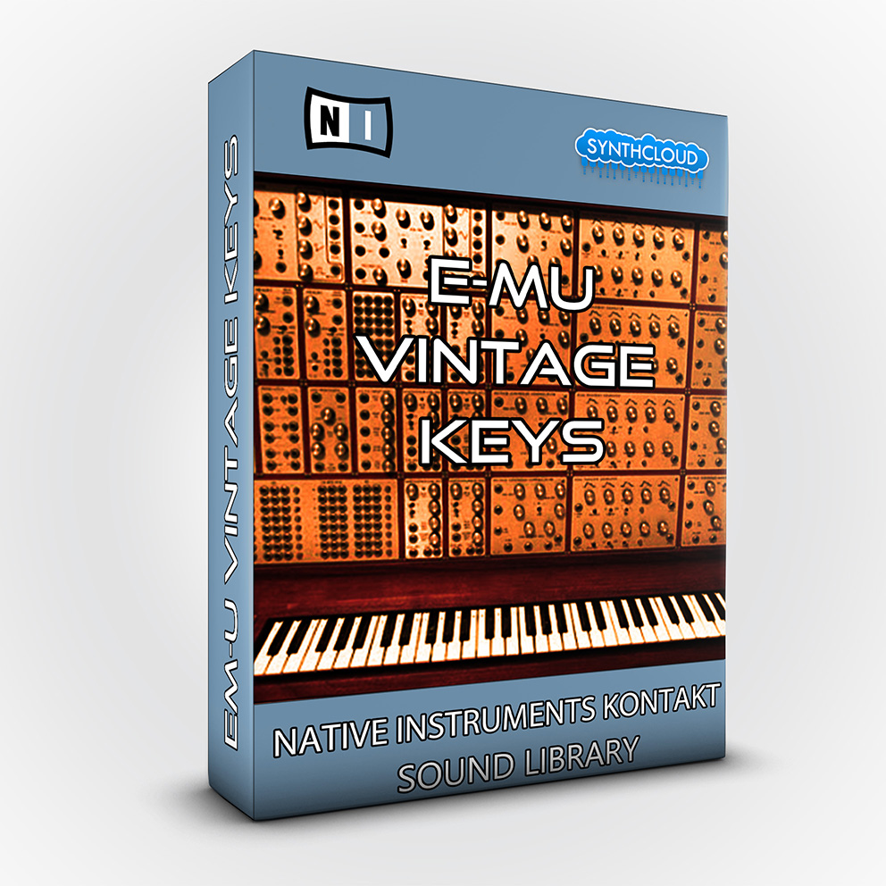 SCL179 - E-mu Vintage Keys - Native Instrument Kontakt