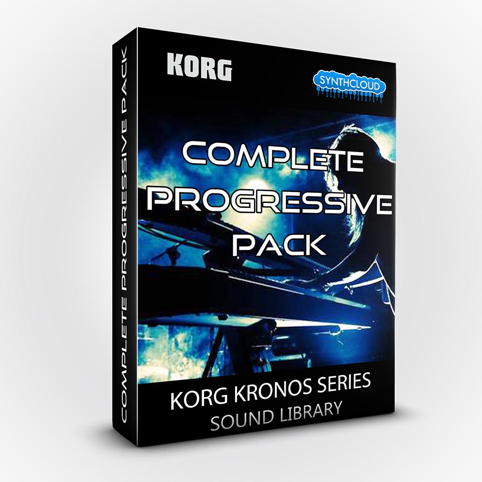 SCL204 - Complete Progressive Pack - Korg Kronos Series
