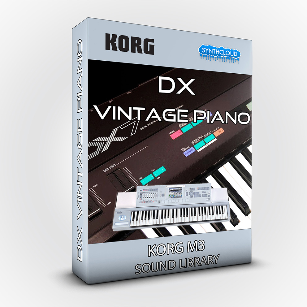 SCL52 - DX Vintage Piano - Korg M3