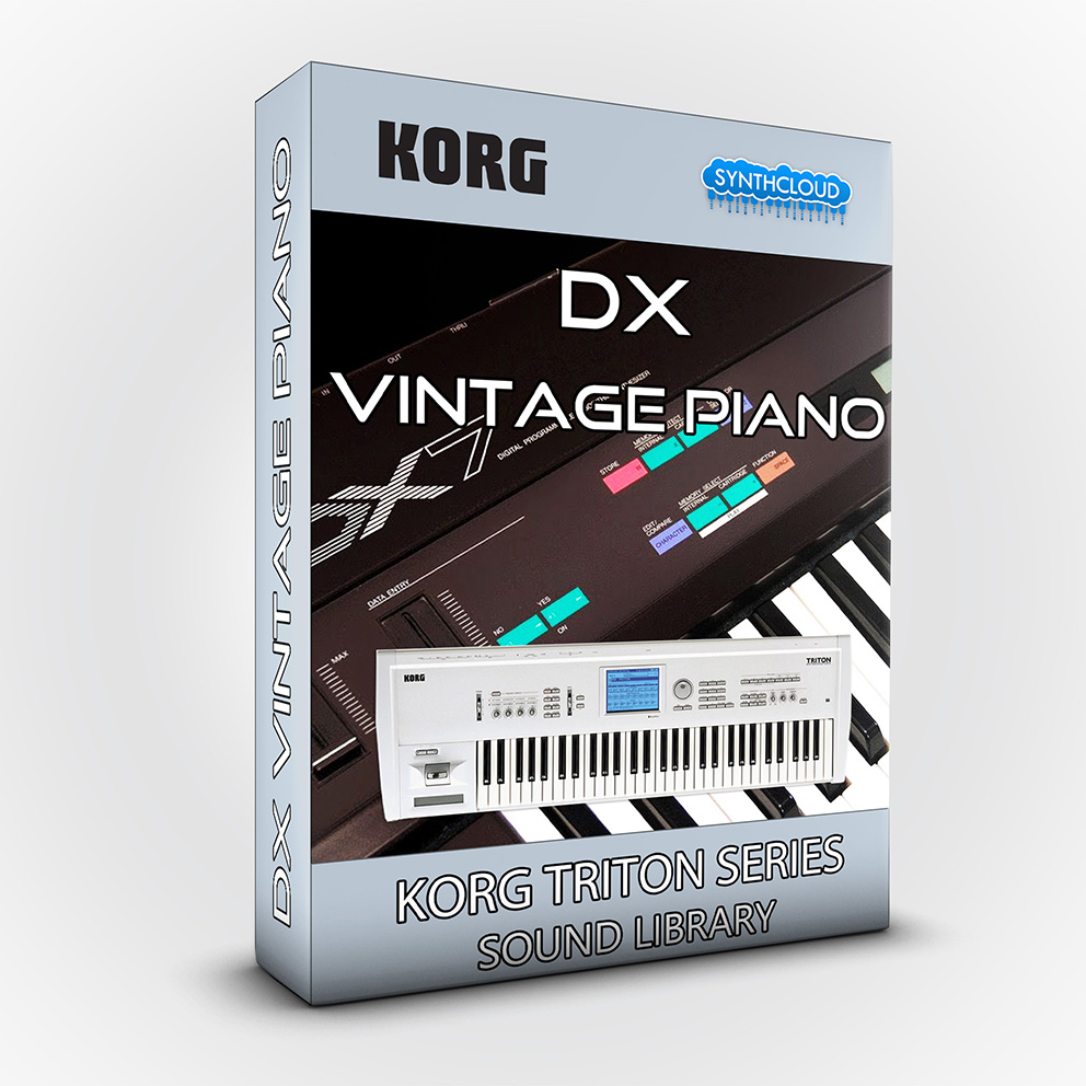 SCL52 - DX Vintage Piano - Korg Triton Series