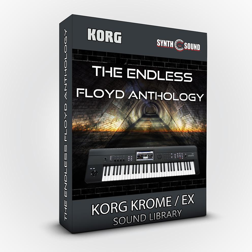 SSX118 - The Endless Floyd Anthology + Bonus PF Cover MKI - Korg Krome / Krome Ex