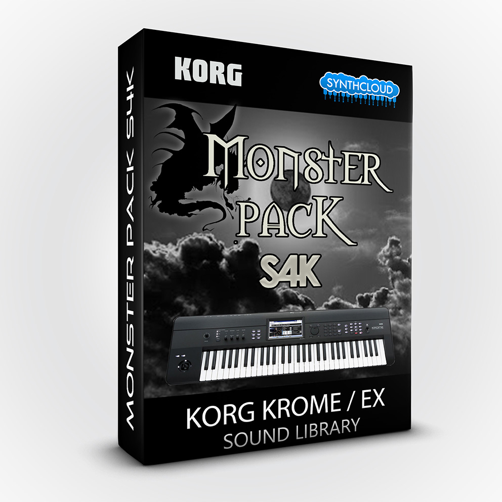 S4K103 - Monster Pack S4K ( Bundle ) - Korg Krome / Krome Ex