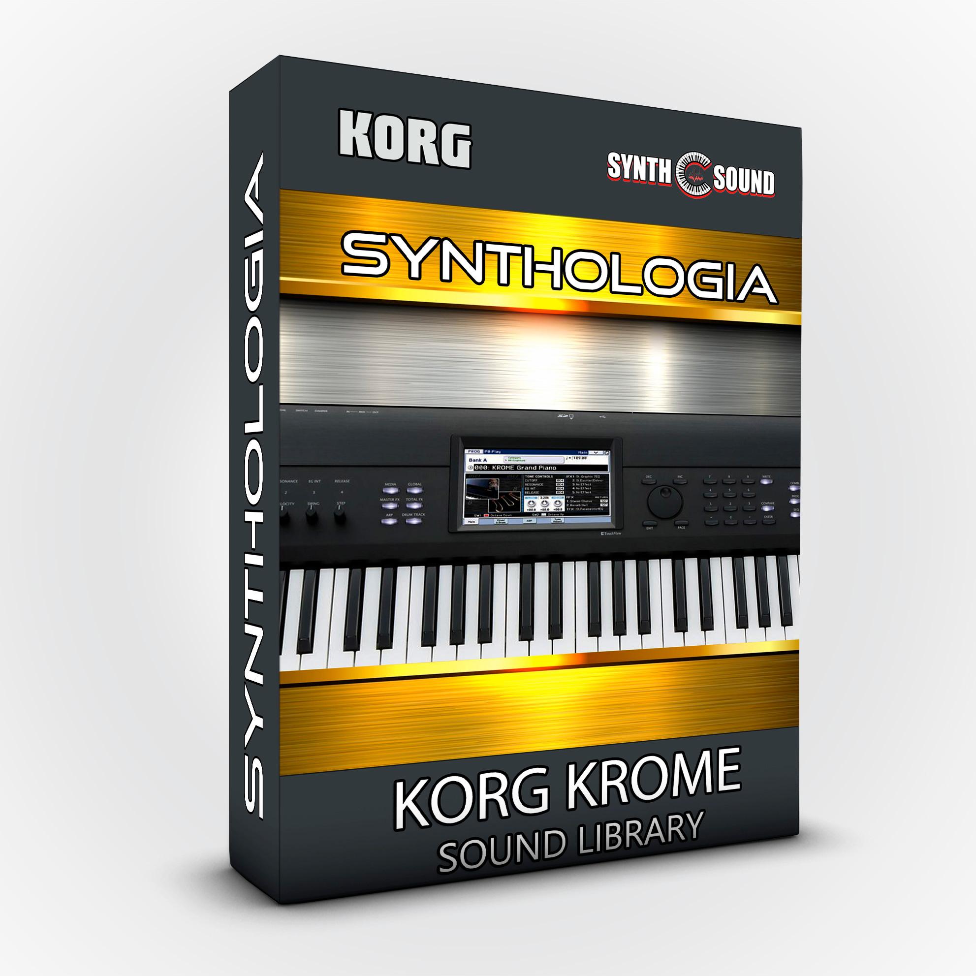 Synthologia V1 - Korg Krome ( preorder )