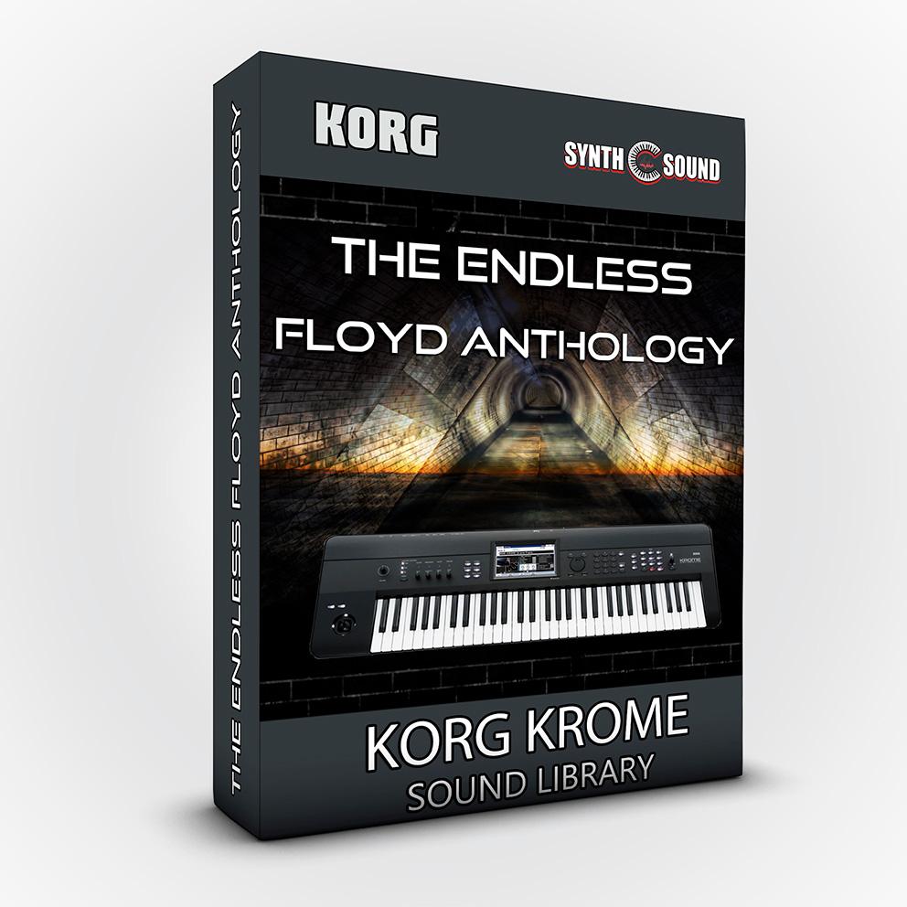 The Endless Floyd Anthology - Korg Krome + Bonus PF Cover MKI