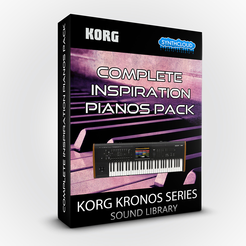 SCL133 - Complete Inspiration Pianos Pack - Korg Kronos / X / 2