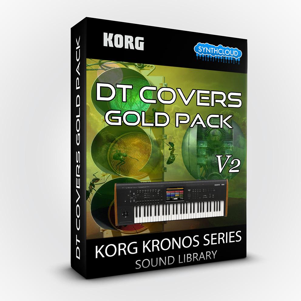 SCL79 - DT Covers Gold Pack V2 - Korg Kronos Series