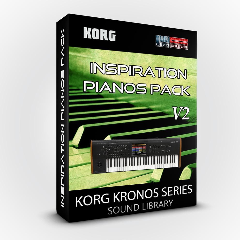 SCL115 - Inspiration Pianos Pack V2 - Korg Kronos / X / 2