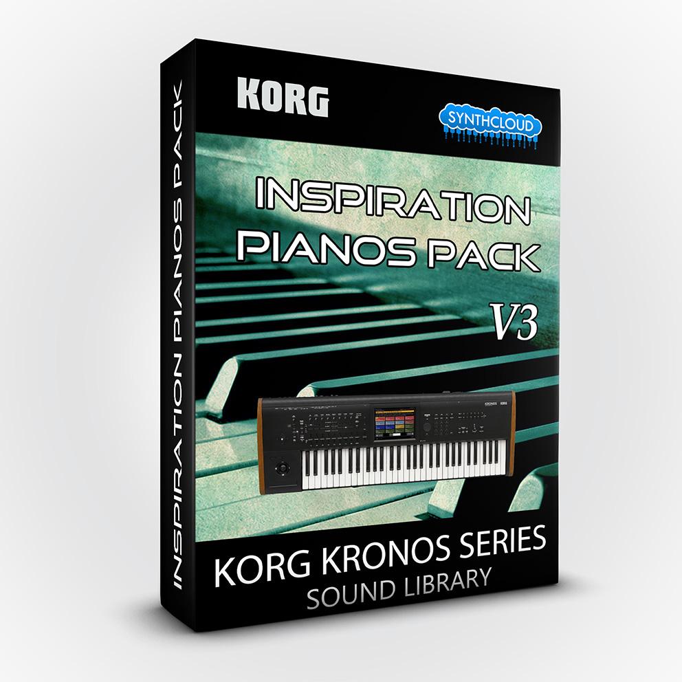 SCL131 - Inspiration Pianos Pack V3 - Korg Kronos / X / 2