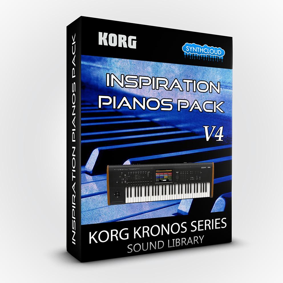 SCL209 - Inspiration Pianos Pack V4 - Korg Kronos / X / 2