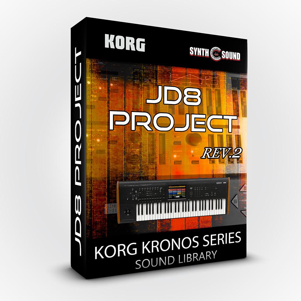 SSX19 - JD8 Project Rev.2 - Korg Kronos Series ( Roland Jd800 )