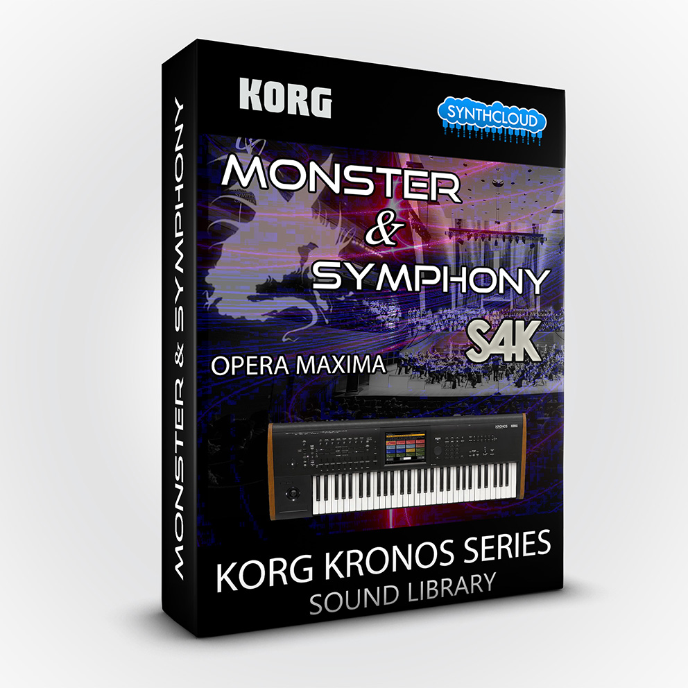 SCL164 - Monster and Symphony S4K - Korg Kronos