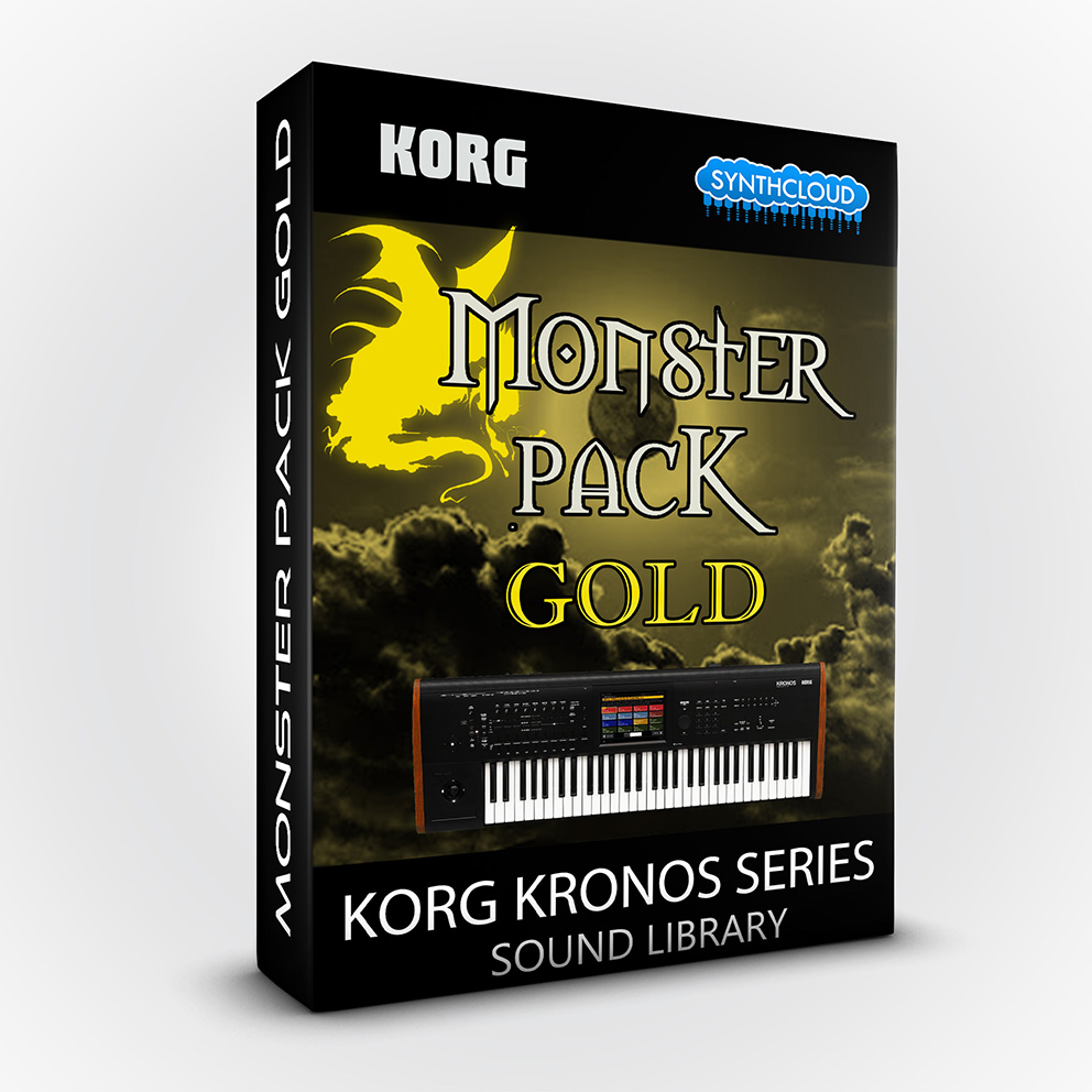 SCL191 - Monster Pack Gold - Korg Kronos Series