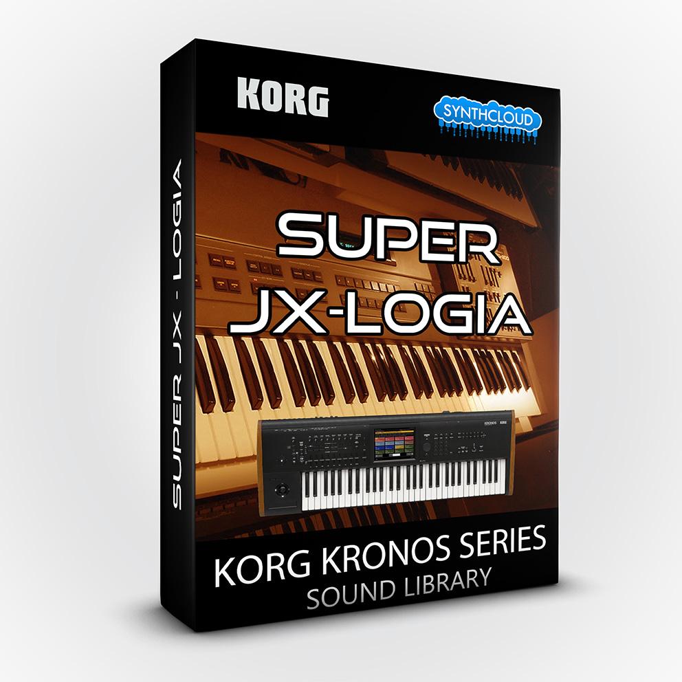 SCL132 - Super Jx-logia - Korg Kronos Series