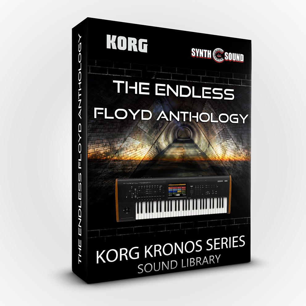 The Endless Floyd Anthology Rev.B - Korg Kronos / X / 2 / Platinum / Ls + Bonus