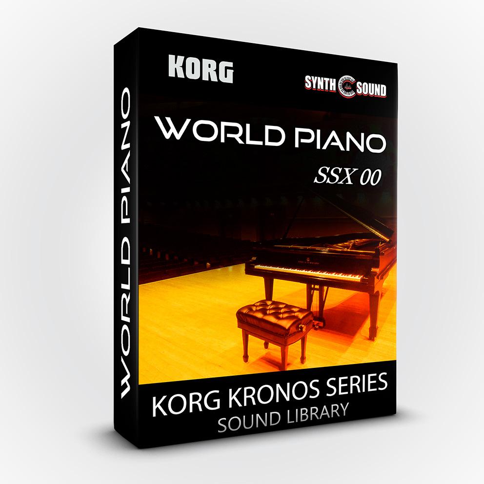 SSX-00 World Piano - Korg Kronos Series