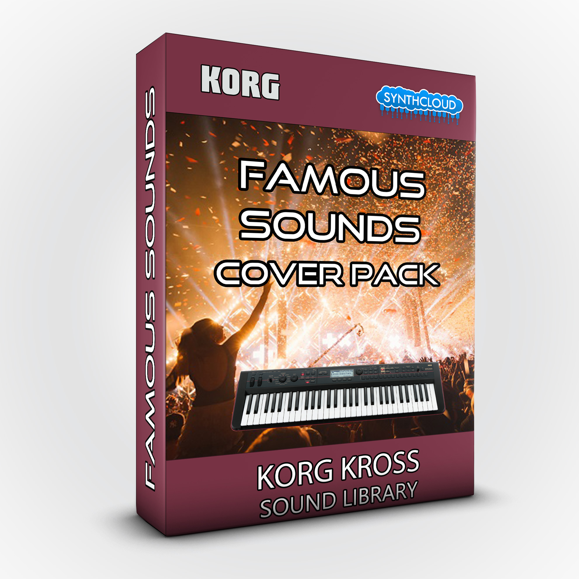 SCL152 - Famous Sounds Cover Pack - Korg Kross