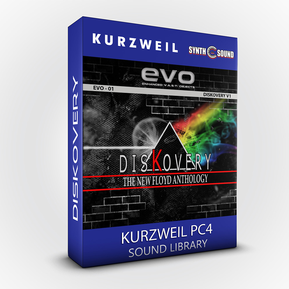 SSX128 - EVO 01 - DisKovery PF Anthology - Kurzweil PC4