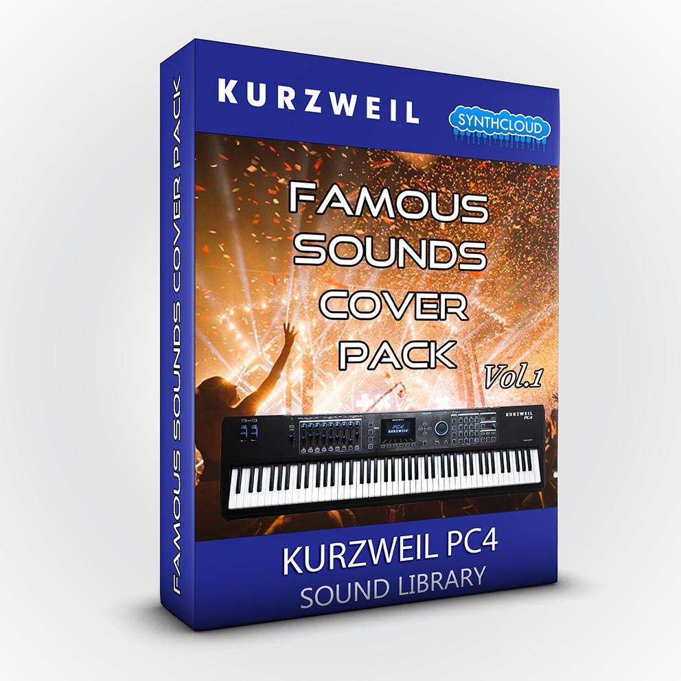 SCL152 - Famous Sounds Cover Pack Vol.1 - Kurzweil PC4
