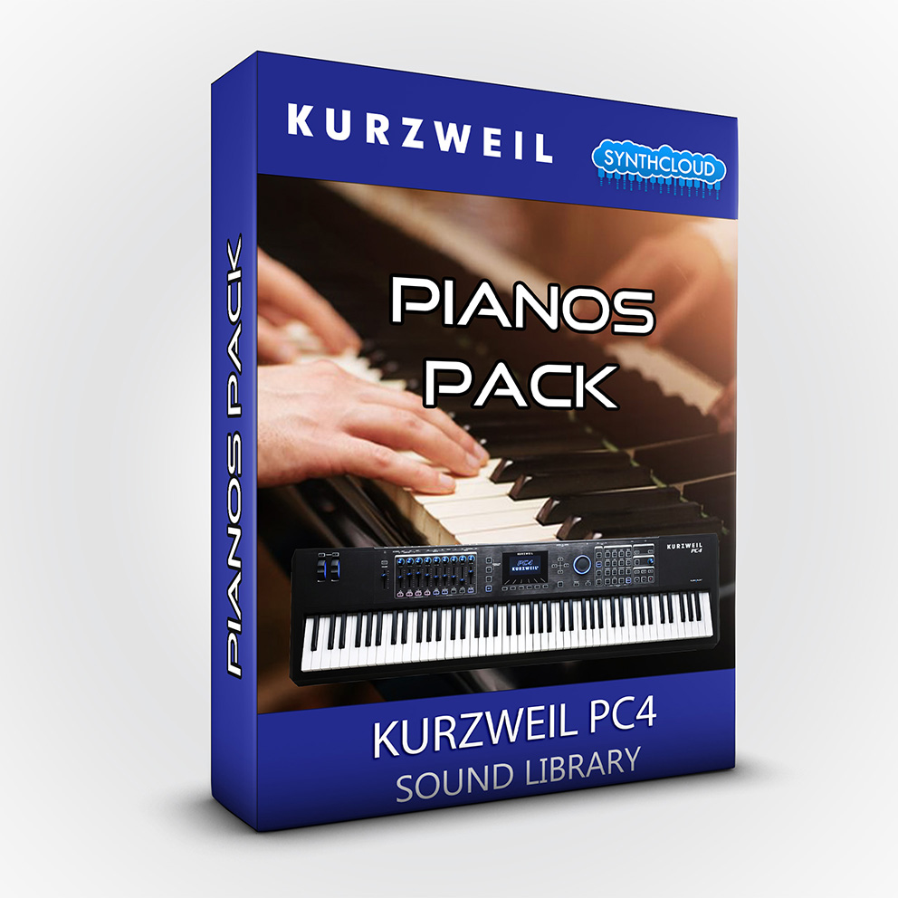 SCL243 - Pianos Pack - Kurzweil PC4