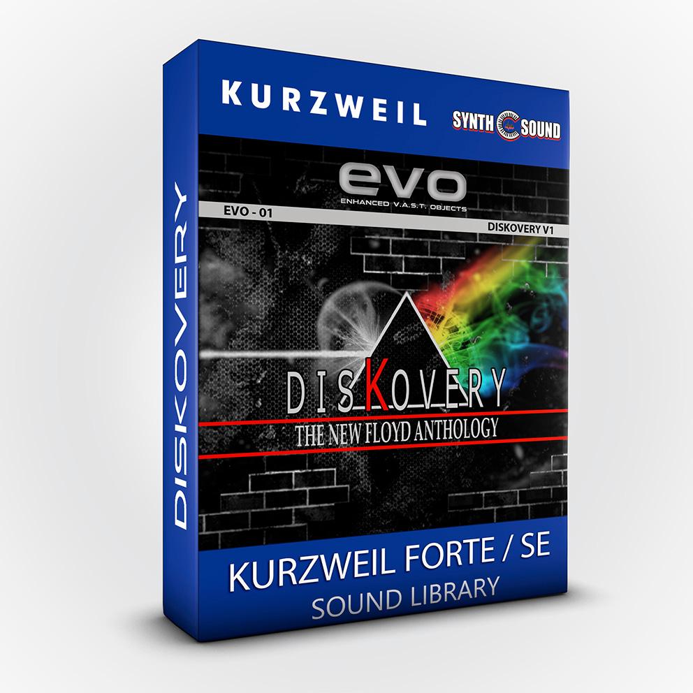 SSX128 - DisKovery PF Anthology - Kurzweil Forte / SE