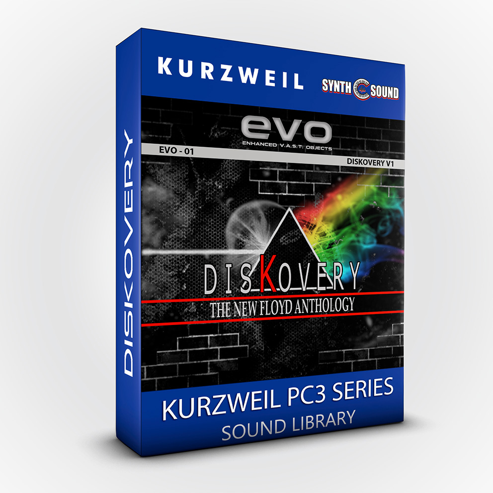 SSX128 - EVO 01 - DisKovery PF Anthology - Kurzweil Pc3 series