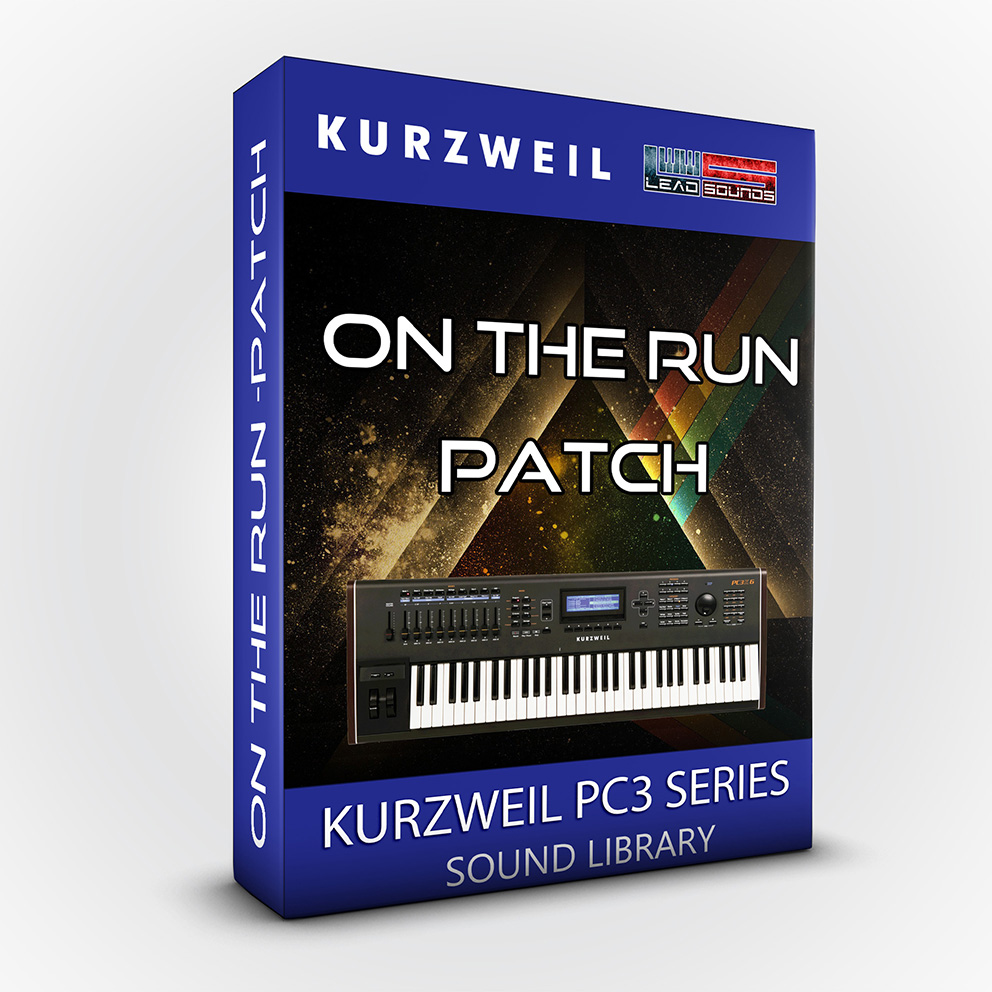 LDX193 - On The Run - Patch - Kurzweil Pc3 / Forte