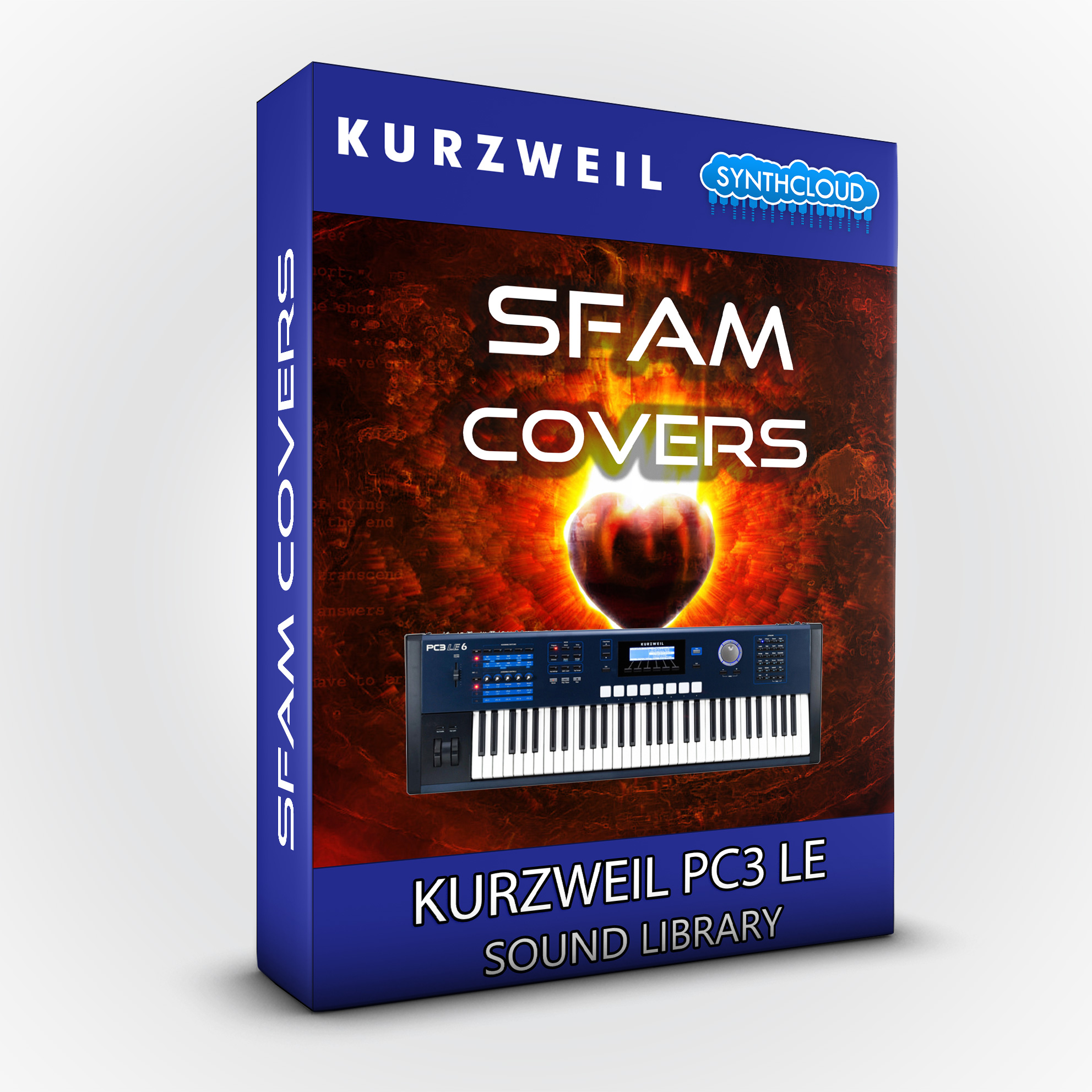 LDX140 - SFAM Covers - Kurzweil PC3LE