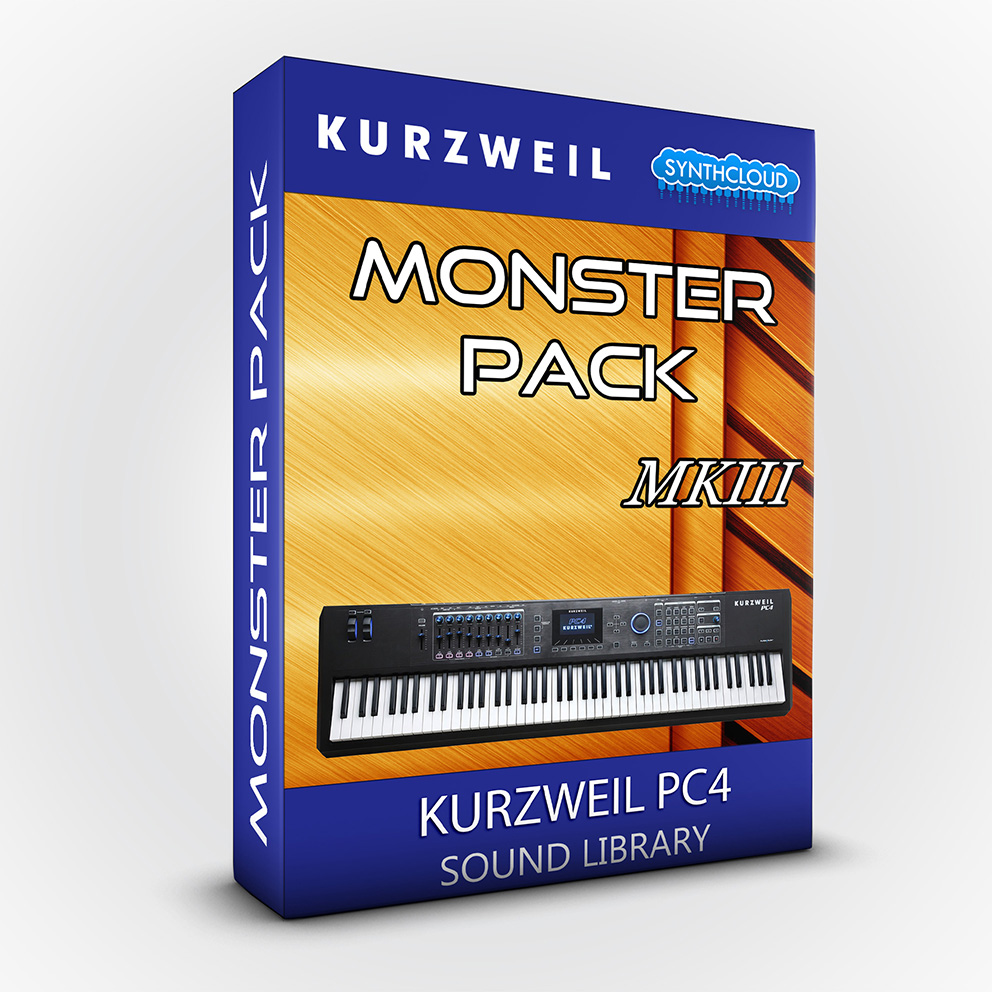 LDX174 - Monster Pack MKIII - Kurzweil PC4