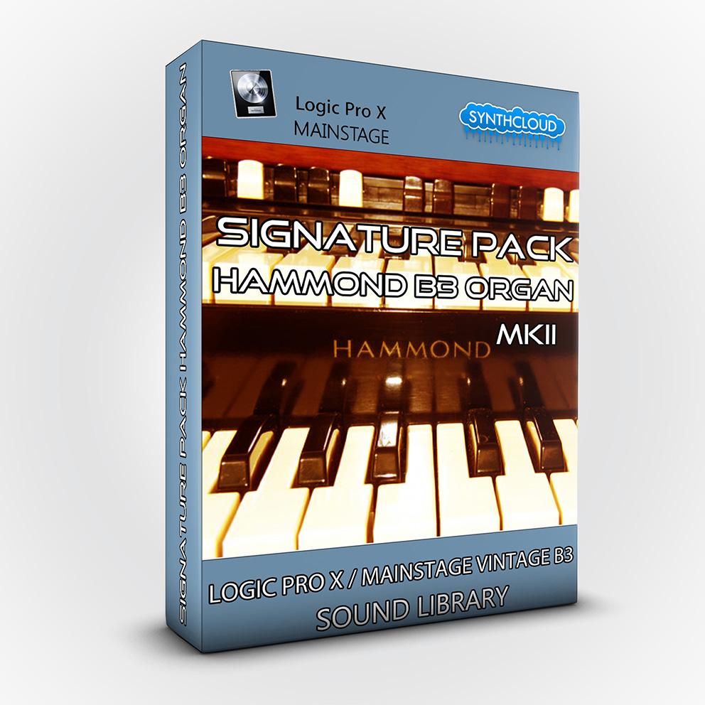 SCL174 - Signature Pack Hammond B3 Organ MKII - Logic Pro X / MainStage Vintage B3